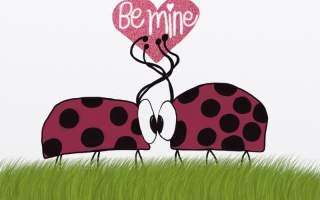 Lady bugs ~ Be Mine