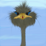 George The Ostrich