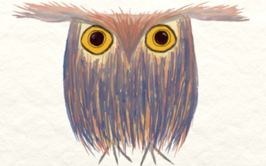 Odd Owl~LgStmp