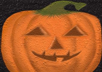 The Textured Pumpkin