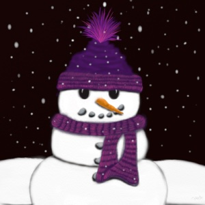 The armless snowman is looking forward to getting his new arms soon.
