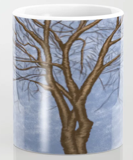 Twisted Tree Coffee Mug.  By One Artsy Momma